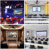 "Instahibit Screens 100"" 16:9 Electric Projector Screen Wall/Ceiling"