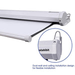 "Instahibit Screens Manual Series 100"" 16:9 Front Screen Wall/Ceiling"