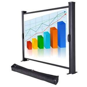 "Instahibit Screens 30"" 4:3 Portable Projector Screen Tabletop"