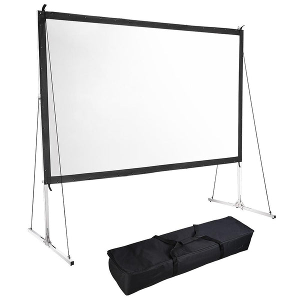 "Instahibit Screens Outdoor Movie Series 120"" 16:9 Front Screen & Frame"