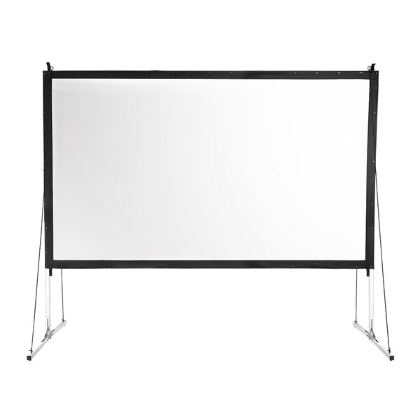 "Instahibit Screens Outdoor Movie Series 135"" 16:9 Front Screen & Frame"
