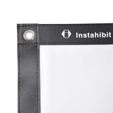 "Instahibit Screens 120"" 16:9 Front Projection Screen PVC Leather"