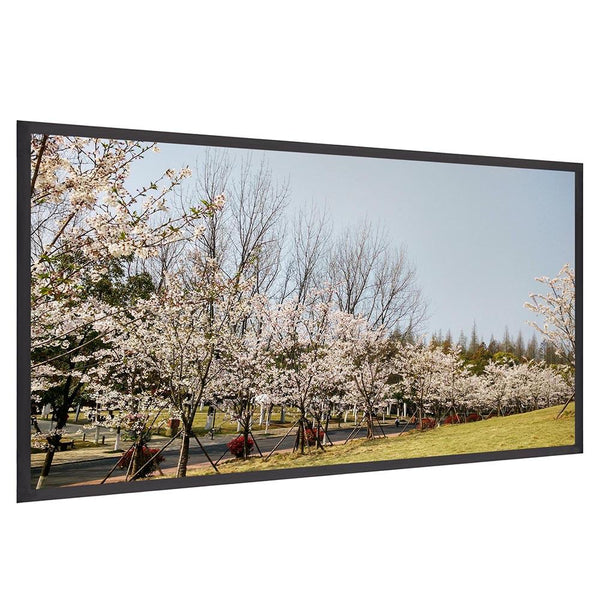"Instahibit Screens 72"" 16:9 Front Projection Screen Matte White"