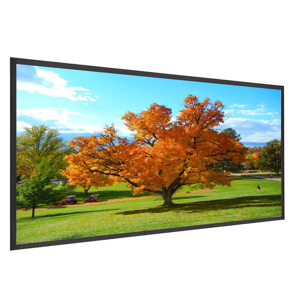"Instahibit Screens 84"" 16:9 Front Projection Screen Matte White"