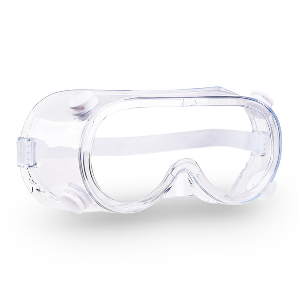Disposable Glasses Protective Goggles Clear Lens 1-Pack