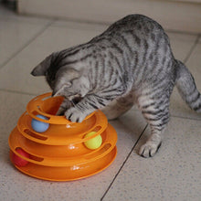 Load image into Gallery viewer, Triple Play Disc Cat Toy