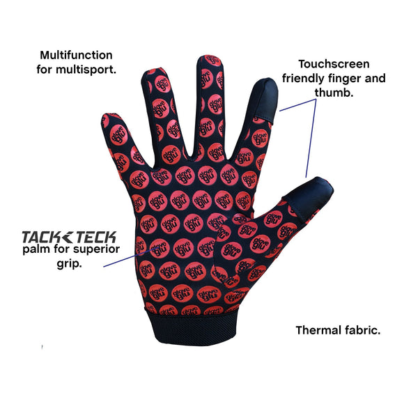 MULTISPORT GLOVE (RED)