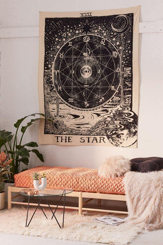 The Moon Tarot Tapestry
