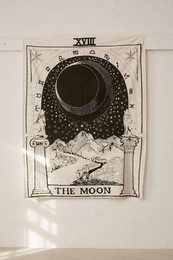 The Moon Tarot Tapestry - dormcy