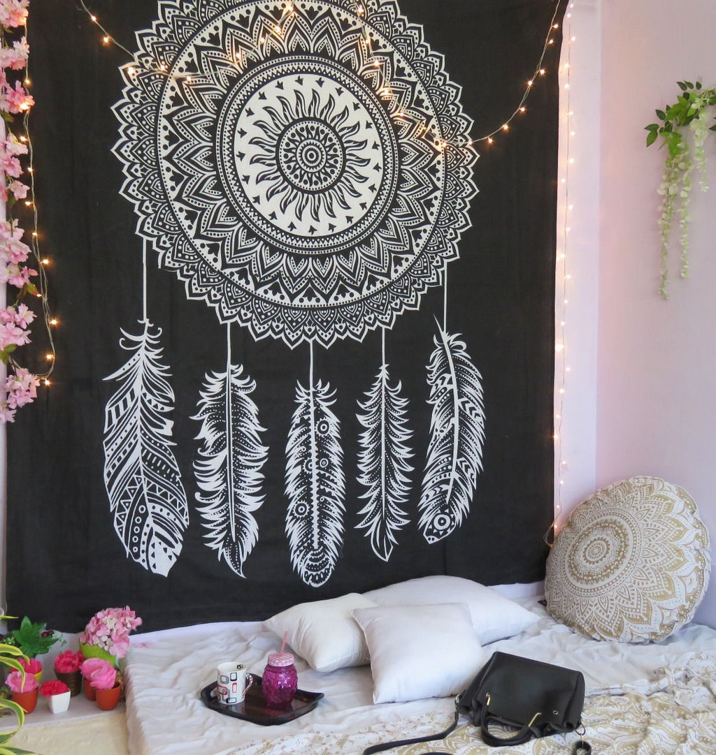 Dream Catcher Mandala Tapestry - dormcy