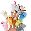 Cartoon Animal Velvet Finger Puppet Finger Toy