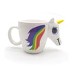 Unicorn Mugs with 3D Color Changing Temperature
