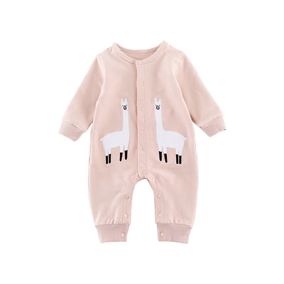 Long Sleeve Romper Cute Spring Autumn Warm