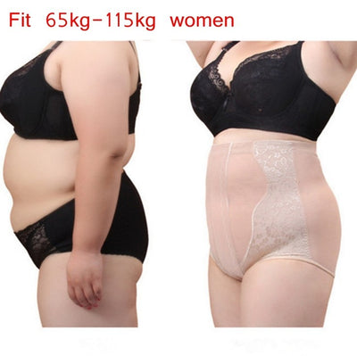 Plus Size Body Shaper Control Panties High Waist