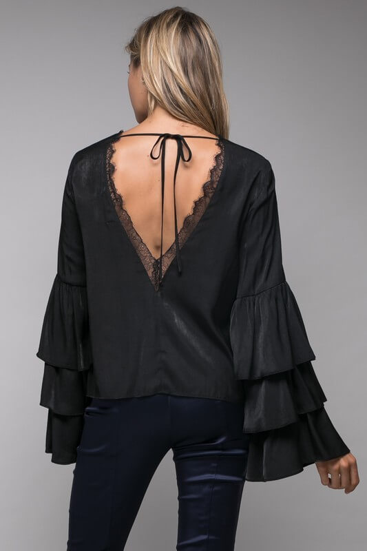 Want You Back Backless Blouse