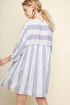 All The Stripe Moves Dress
