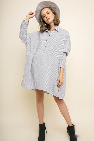 Shell Yeah Oversized Dress