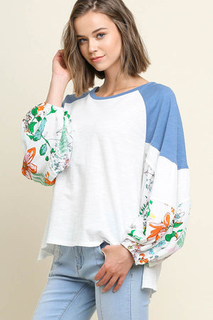 You Got the Flower Puff Sleeve Top