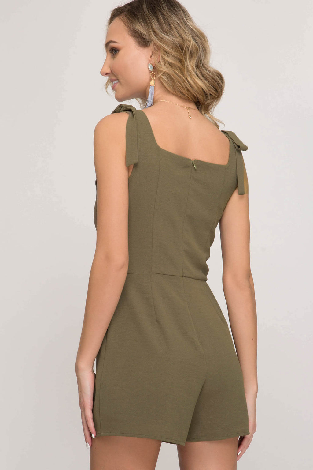 All Systems Bow Romper