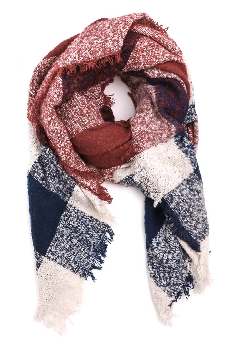Beyond Cozy Blanket Scarf