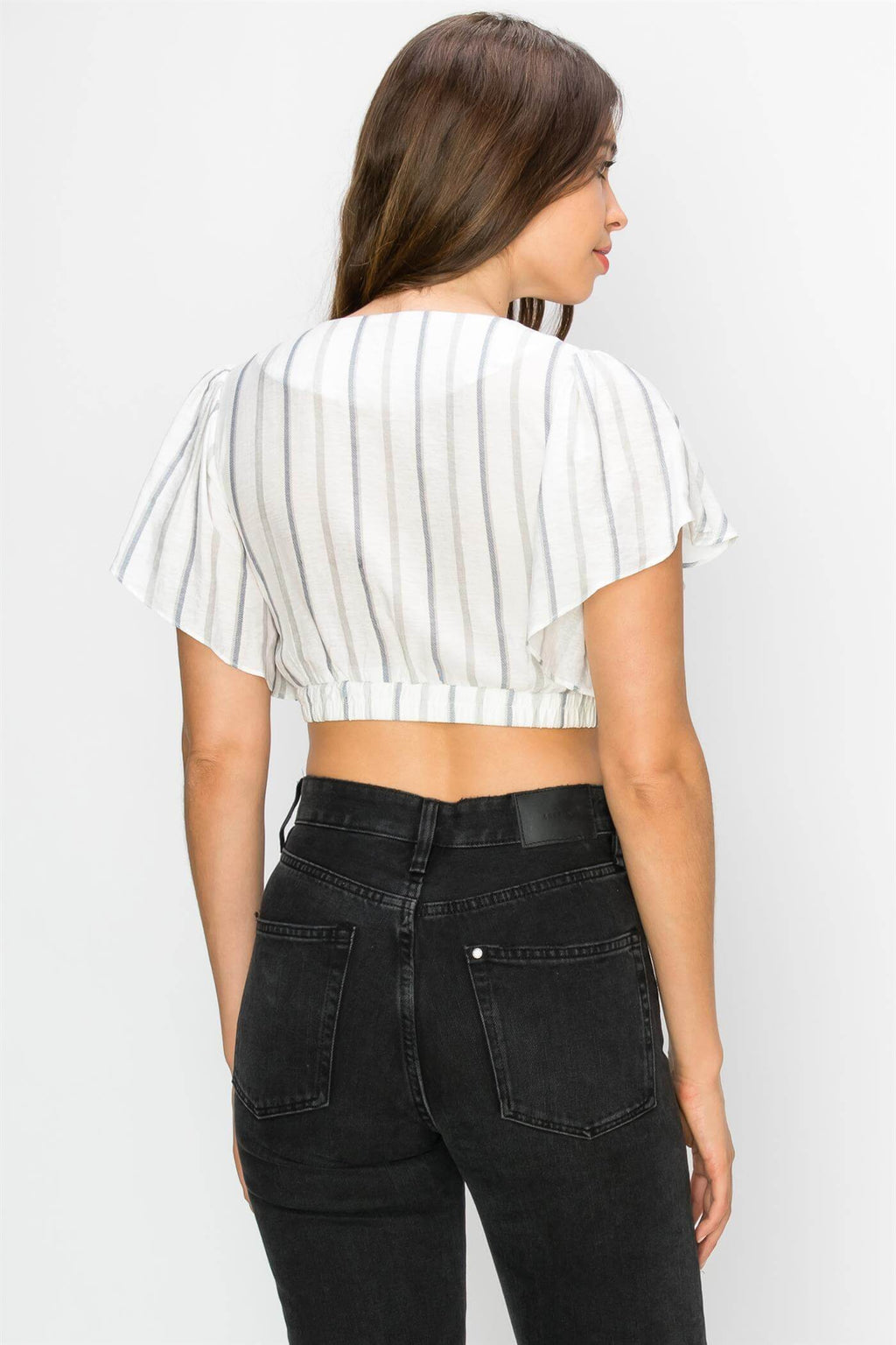 Stripe Me Up Crop Top