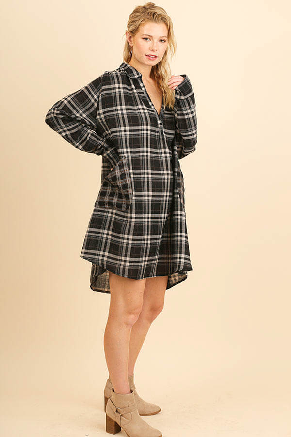 Check That Out Oversized Pocket Dress