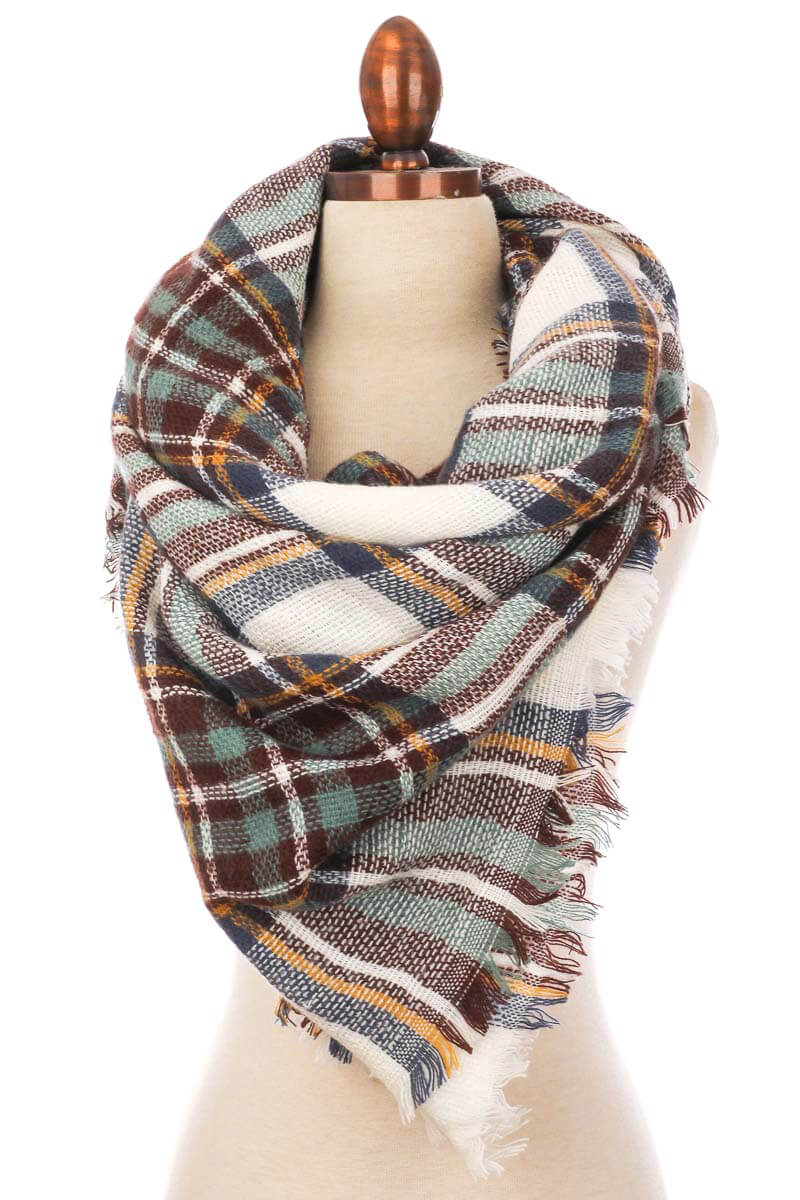Heat of the Moment Blanket Scarf