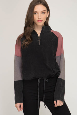 Colorblock You Out Pullover