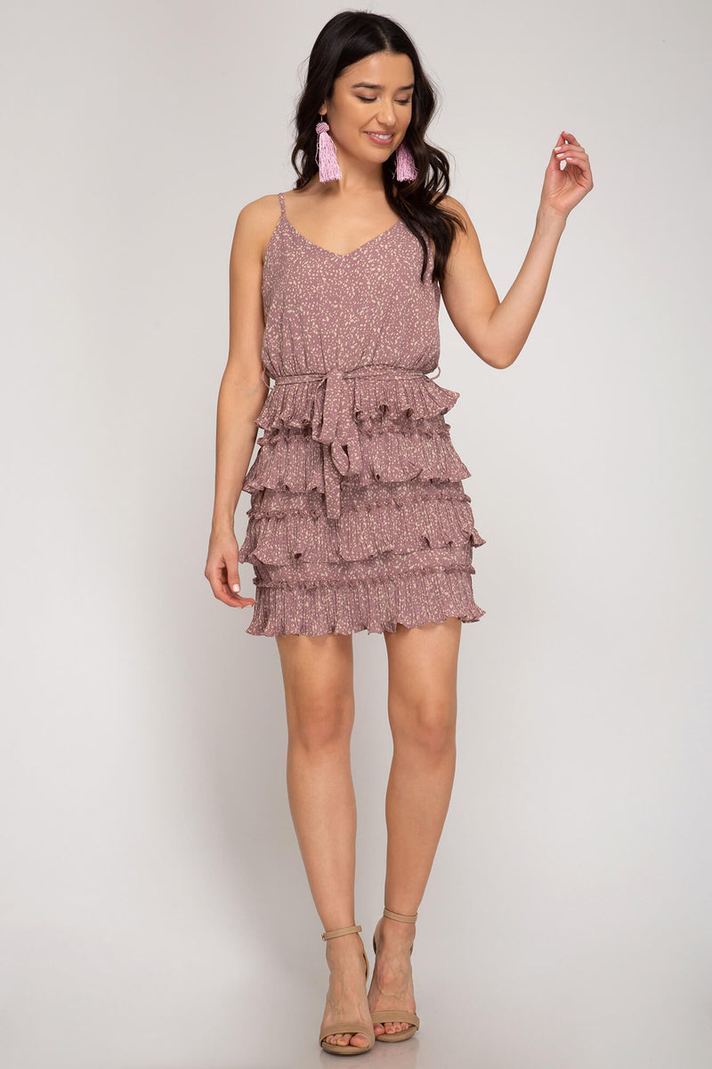 Ruffle on Over Dress