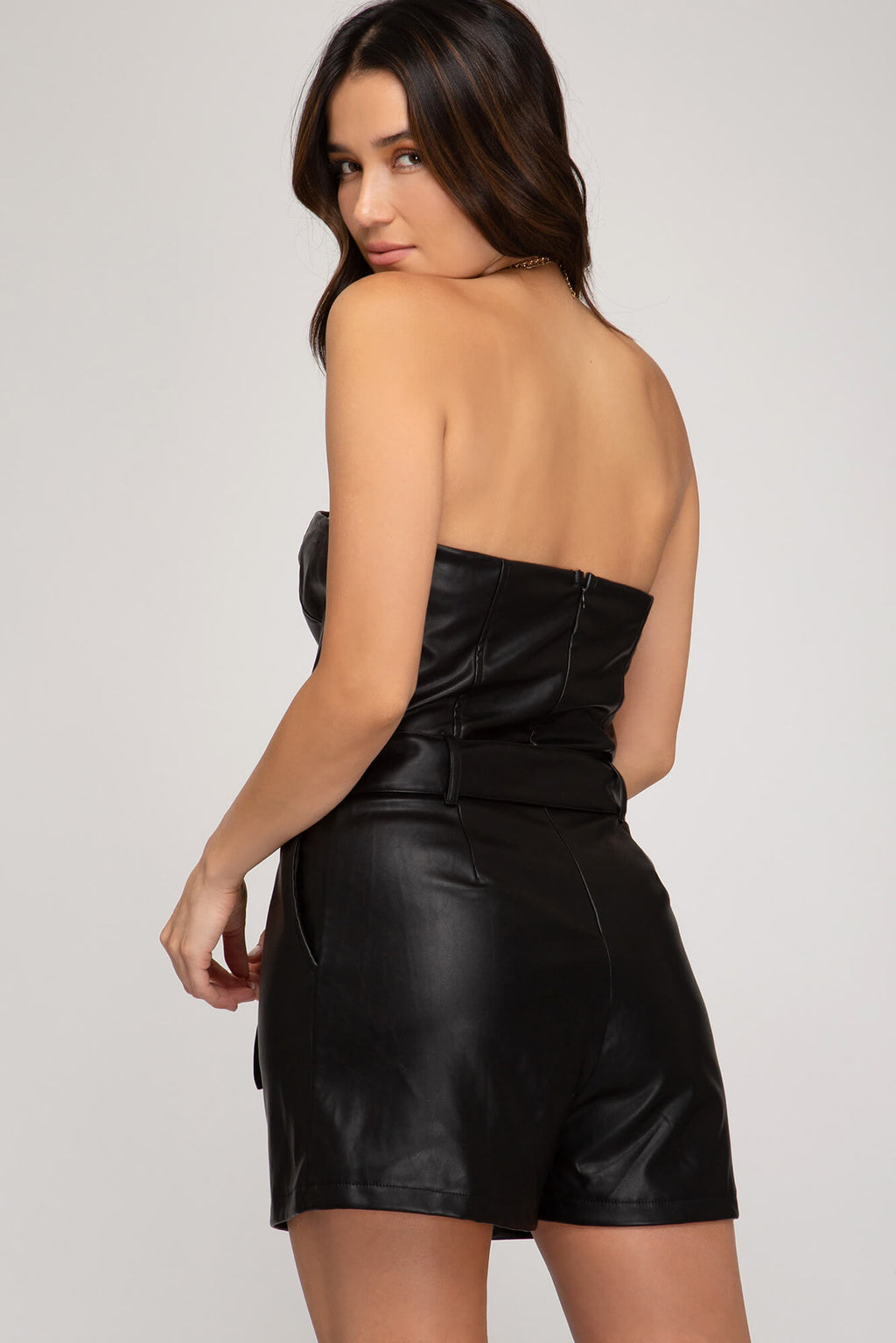 All I Leather Wanted Romper