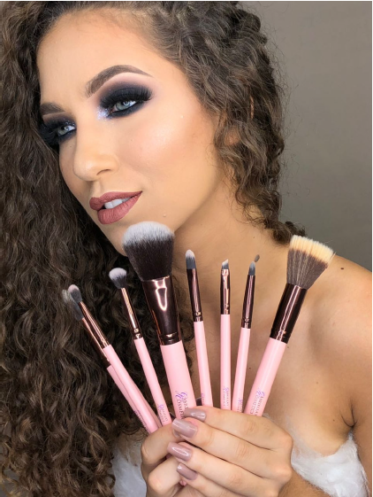 Limited Edition - Pink Makeup Brush Collection