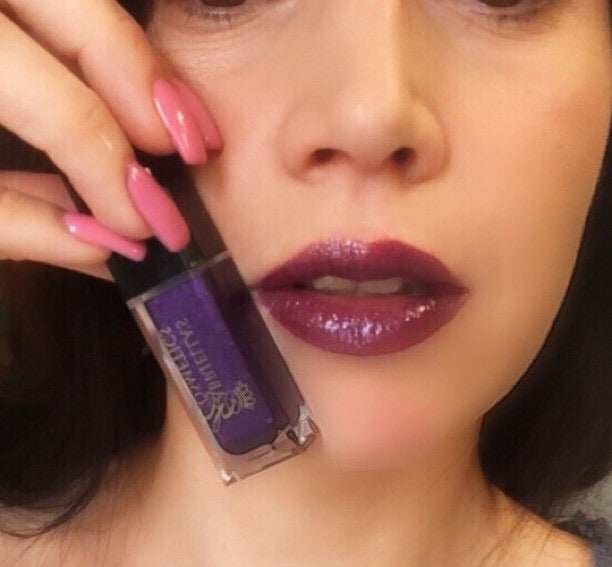 Metallic Lip Gloss - Purple Haze