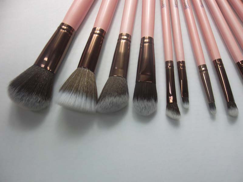 Pink Makeup Brush Collection
