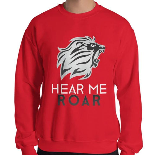 Hear Me Roar Sweatshirt (Red)