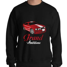 Load image into Gallery viewer, Grand Ambitions Sweatshirt (Black/Red)