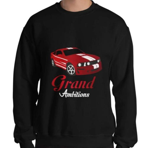 Grand Ambitions Sweatshirt (Black/Red)