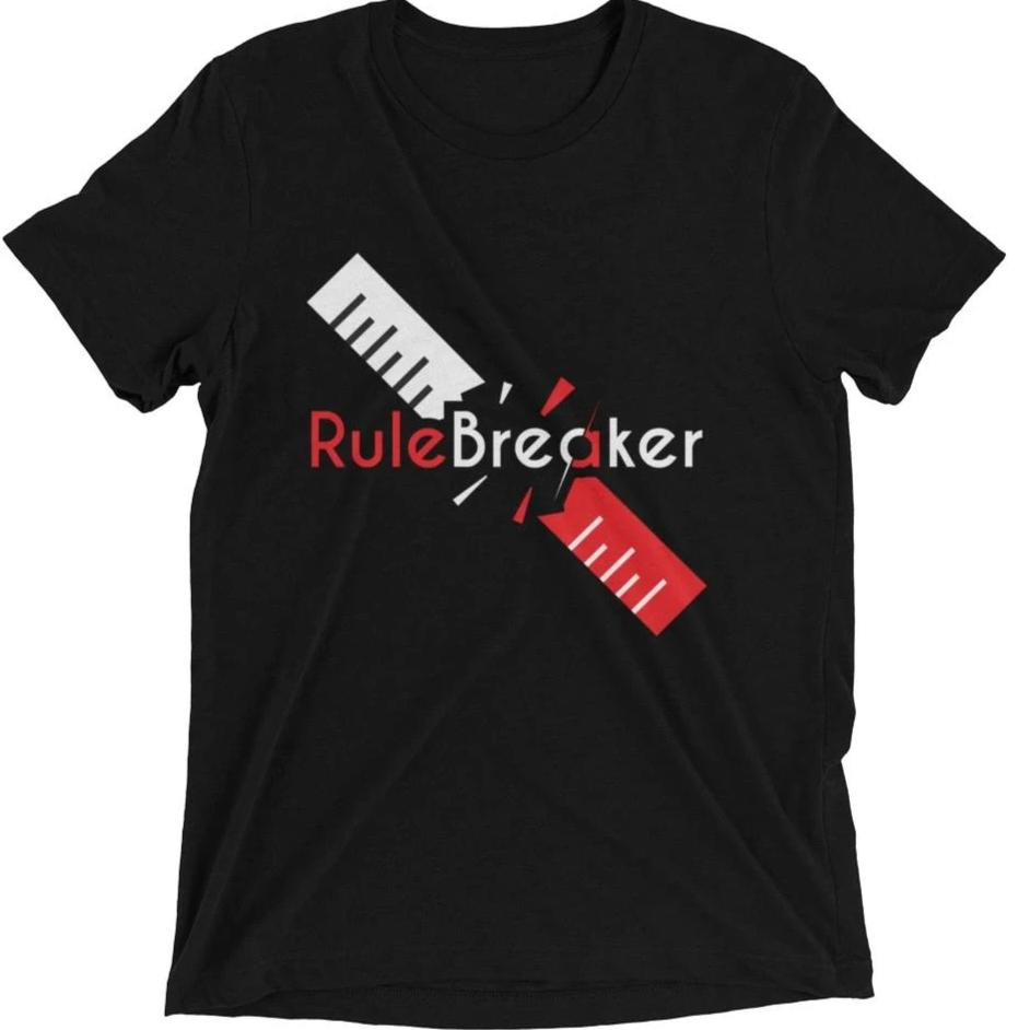 Rule Breaker short sleeve t-shirt
