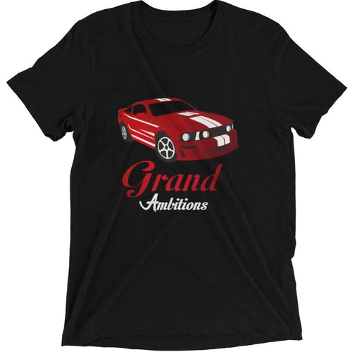 Grand Ambitions short sleeve t-shirt (Red/Black)
