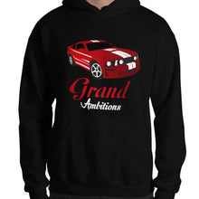 Load image into Gallery viewer, Grand Ambitions Hoodie (Black/Red)
