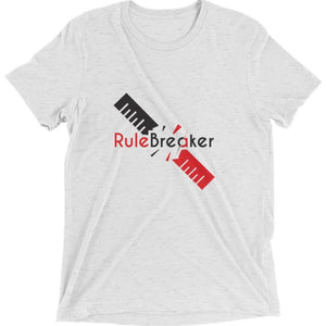Rule Breaker short sleeve t-shirt (White)