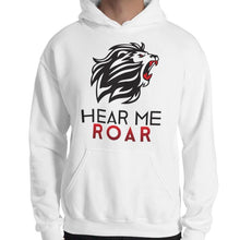 Load image into Gallery viewer, Hear Me Roar Hoodie (White/Green)