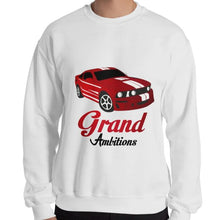 Load image into Gallery viewer, Grand Ambitions Sweatshirt (White/Navy)