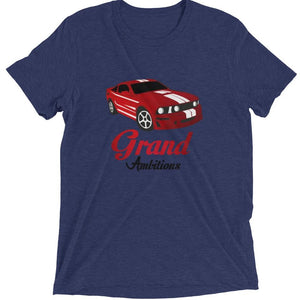 Grand Ambitions short sleeve t-shirt (White/Navy)