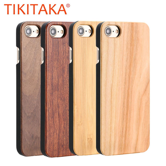 Real Wood Case For iPhone and Samsung smartphones