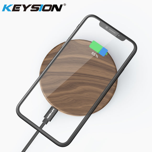 Wireless Wooden Qi Charger