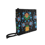 Floral Beadwork Four Mothers Slim Clutch Bag