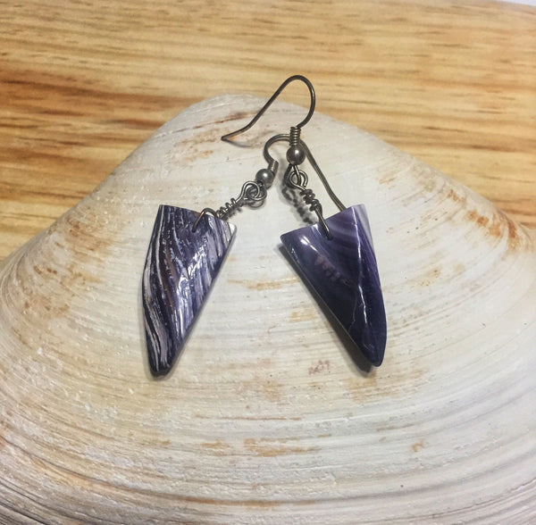 Wampum Earrings