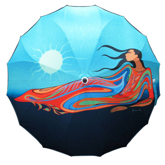 Mother Earth Artist Full Panel Umbrella