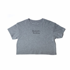 COSYSZN - Speckled Grey Crop T-Shirt