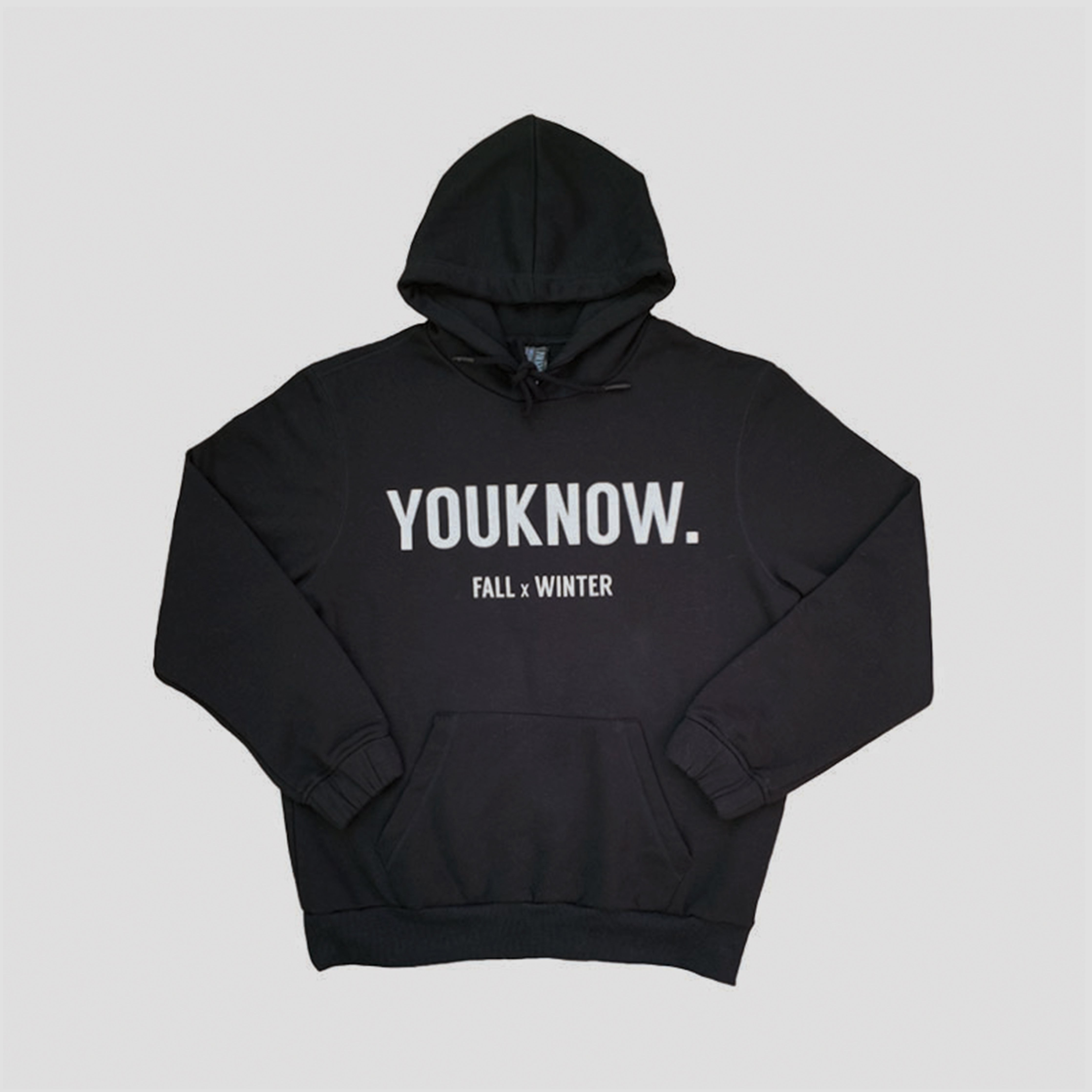 LAZY COLLECTION HOODIE - BLACK